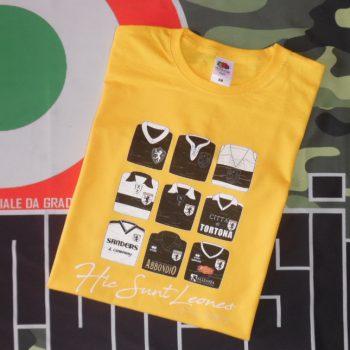 T-Shirt Derthona ufficiale Jellow