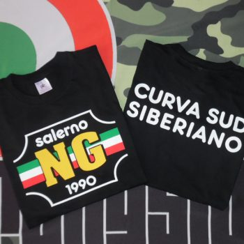 T-Shirt Salerno ng Amato Nera